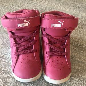 Toddler girl Puma tennis shoes